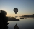 Loire Valley hot air ballooning over Loire