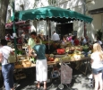 Loire Valley Chateau Saumur saturday morning market