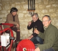 Loire wine tours Simon with winemaker Pierre