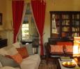 le salon Manoir de Gourin Saumur Loire Valley