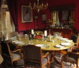 Dining table ready for our guests to be seated