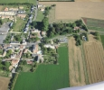 Aerial view of Manoir de Gourin taken from a microlight