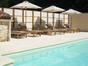 swimming pool Manoir de Gourin