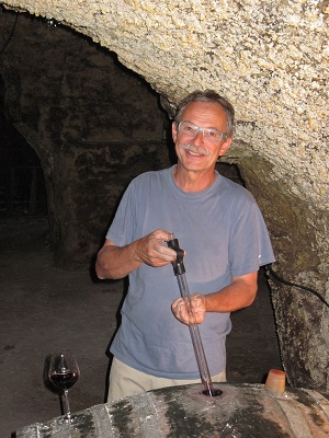 Loire wine tours Pierre the winemaker