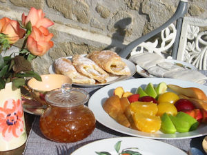 Breakfast Loire Wine Tours