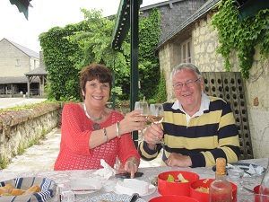 Lunch at Saumur Champigny Vineyard Loire wine Tours