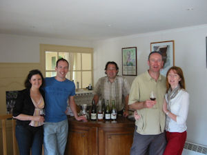 Half day wine tours wine tasting at Chaintres