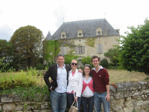 Four day wine tour Chateau de Chaintres