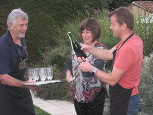 Wine tasting dinner Loire Wine Tours