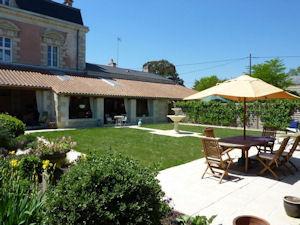 Manoir de Gourin guest garden
